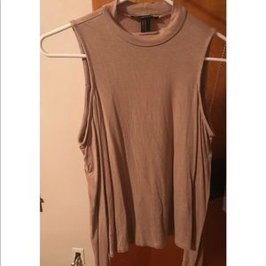 Forever 21 long sleeve open shoulder